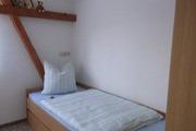 zweites Schlafzimmer in der Ferienwohnung Königstein
